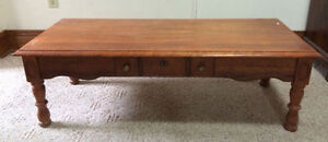 Large COFFEE TABLE - wood $40