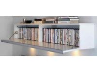Ikea wall mounted cd/dvd storage