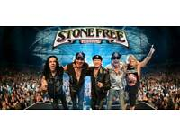 Scorpions and Megadeath Tickets - VIP Block Seats - Stone Free Festival - o2 Arena - Sat 16th June