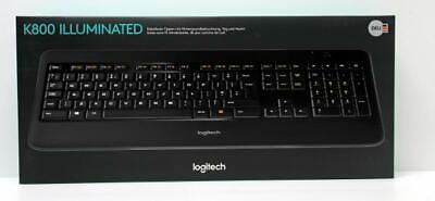Logitech Wireless Illuminated Keyboard K800 - Ausstellungsstück