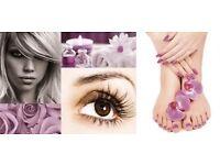 Lashes & nail treatments