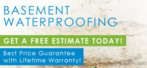 LEAKY BASEMENT/FOUNDATION ? WE WATERPROOF HOMES THE RIGHT WAY!!!