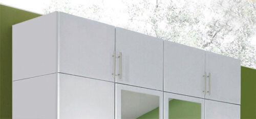 Wimex Aufsatz für Kleiderschrank Kleiderschrankaufsatz weiß 180cm 255613
