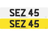 cherished number plate 2 digit plate