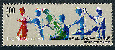 Israel 904, MNH. Natl. Association of Nurses, 1985