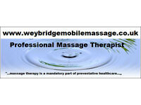 Mobile Massage in Surrey, Professional Sport & Deep Tissue and Pain Relief Massage at Your Home!!!