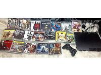 ORIGINAL PLAYSTATION 3 CONSOLE PLUS 19 TOP GAMES!!!!!!!!!!!!!!!!!!!!