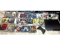 ORIGINAL PLAYSTATION 3 CONSOLE WITH 19 TOP GAMES!!!!!!!!!!!!!!!!!!!
