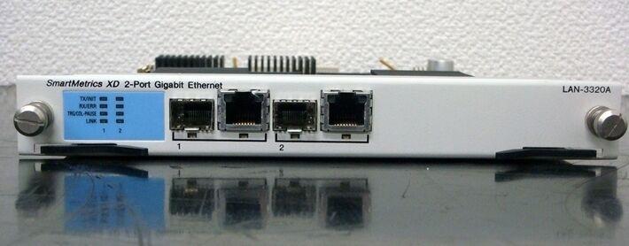 SPIRENT Communications LAN-3320A SmartMetrics support