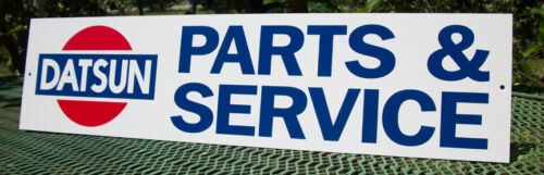 DATSUN PARTS & SERVICE SIGN CLASSIC 240Z 510 720 BLUEBIRD SKYLINE