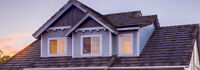 Roofing and roof repairs, Siding installation