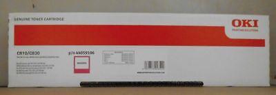 C830 Magenta Toner (Original Oki 44059106 Toner magenta für C810  Cdtn DN N  C830 Cdtn DN N Karton C)