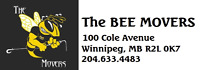 THE BEE MOVERS from A2B *204.633.4483* MOVES & STORAGE!