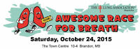 Earn Bump Cards for early entry to Awesome Race for Breath