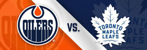 BUY NOW✸✸Edmonton Oilers vs Toronto Maple Leafs SAT Dec 14 5PM✸✸