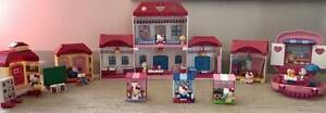 8 Hello Kitty Lego Sets in a Hello Kitty Back pack Harrison Gungahlin Area Preview