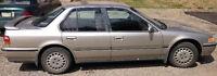1992 Honda Accord Sedan