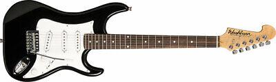 Washburn Sonamaster S1 Guitarra Eléctrica ,S1B-A-U, Negro, Nuevo