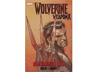 Wolverine weapon x adamantium men vol 1 comic