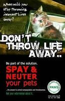 Low Cost & No Cost Spay Neuter Services for your Cats/Dogs!