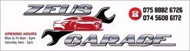Car Repair Garage with experienced mechanics