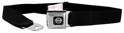 Seatbelt Men Canvas Web Military Nissan Black Altima Juke Maxima Titan Quality