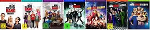 The Big Bang Theory 1+2+3+4+5+6+7 * NEU OVP * (Staffel/Season) * DVD Set