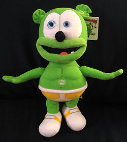 GUMMY BEAR - SINGING SOFT TOY- NEW WITH TAGS - SAME DAY DESPATCH - PLUSHTOYZ