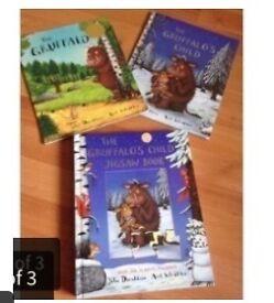 Gruffalo books n puzzle book