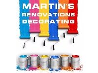 Martin's Refurbishing, Painting and Decorating, maintenance, handyman, furniture assembly,low prices
