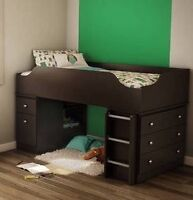 South Shore Tree House Twin loft bed