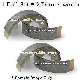 """NEW 10"""" Electric Brake Shoe Kit(set of 4) suit ALKO Cairns Cairns City Preview"""