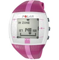 EEUC Pink Polar FT4 Heart Rate Monitor Watch