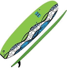 Perception Jetty SUP w/ Leash & adj Paddle!