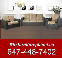 """MADE IN CANADA"" FABRIC/BONDED SOFA ONLY"