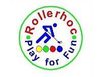 ROLLERHOC (The easy-play hockey game on wheels.)