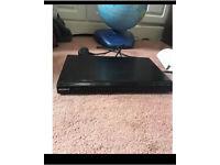 Small black Sony DVD player