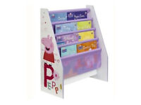 Peppa Pig Sling Freestanding Bookcase