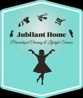 Jubilant Home- Personalized cleaning & organizing