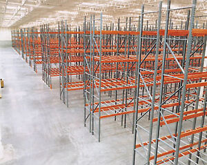 Used Pallet Racking - Frames and Beams