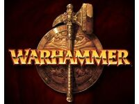 Warhammer games workshop stuff wanted