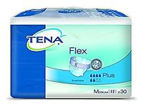 Commercial packs Tena pads