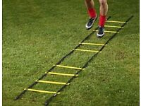 NOW REDUCED, BRAND NEW IN PACK MITRE 4M AGILITY LADDERS