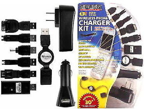 ZipLinQ CELL-KIT Phone Charger Cable Kit       xxx