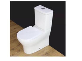 New square toilet