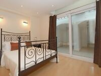 TWO DOUBLE BEDROOM, TWO BATHROOM FLAT WITH PRIVATE PATIO! PRIMROSE HILL! CLOSE TO UNDERGROUND!