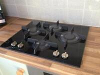 Brand new boxed glass gas hob