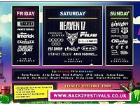Back to the 80's, 90's & 00's festival.