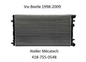 VW BEETLE 1998-2009 RADIATEUR