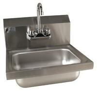 Hand sinks with faucet on Sale